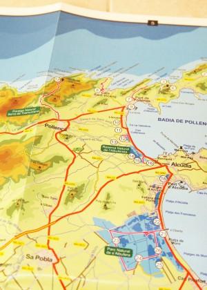Mallorca Birding Map