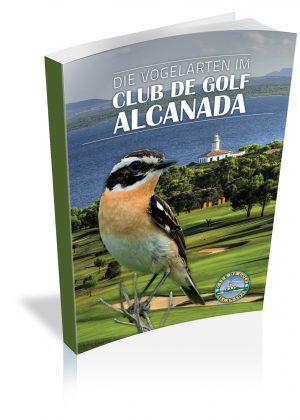 Libro Las aves del club de Golf Alcanada – Mallorca