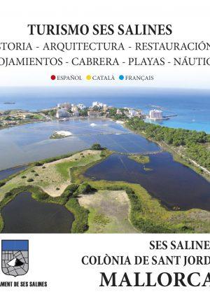 Folleto-mapa Ses Salines, Mallorca